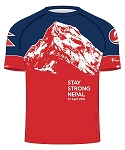 Stay Strong Nepal Tech Tee