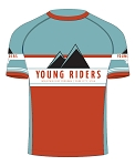 2018 Young Riders  Kids Tech Tee