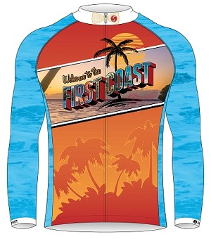 North Florida Bicycle Club Long Sleeve Jersey