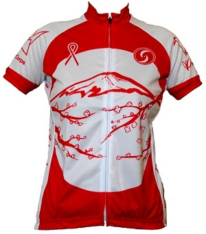 Womens Cut One World Japan Cycling Jersey