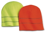 Bayside Safety Knit Beanie with 3M Reflective Thread