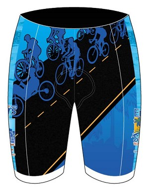 2018 North Florida Bicycle Club Shorts
