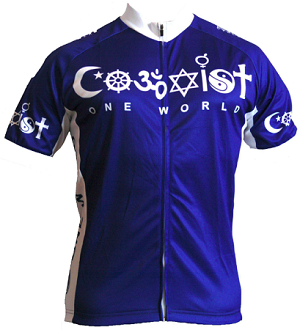 Coexist Jersey Womens Cut